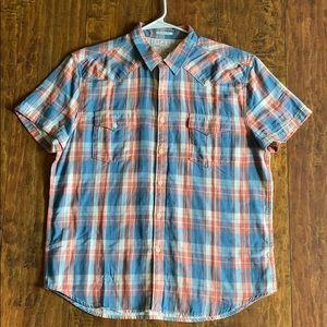 Lucky Brand short sleeve button down shirt